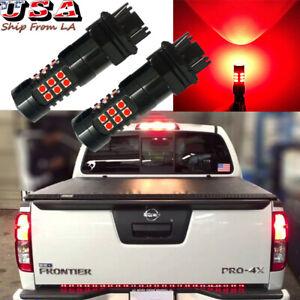 3157 30-LED Strobe Flashing Brake Tail Light Bulbs for Nissan Pathfinder Altima