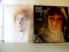 SEALED ! A Lot of 4 Barry Manilow LPs Sealed !!! ,One Voice,1,Barry & If I .....