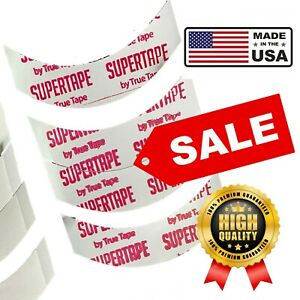 Supertape Double Sided Tape Lace Wig Toupee Hair System CC Most Common 30 Strips
