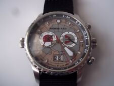 Burberry Endurance watch. 1st Expedition at the South Pole. Quartz. Pre-owned.
