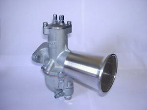 """Alloy Bell 2 3/4"""" with filter 900 concentric ariel,bsa amal,triumph,norton,"""
