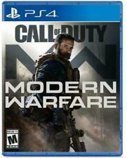 Call of Duty: Modern Warfare USED SEALED (Sony PlayStation 4, 2019) PS4