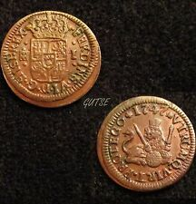 *GUTSE*11-FERNANDO VI, 1 MARAVEDI 1747, SEGOVIA, EBC