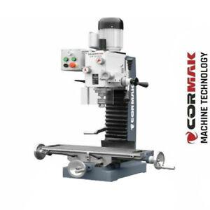 CORMAK Bohr-/Fräsmaschine ZX7032G mit Gewindeschneid-Funktion und Messsystem