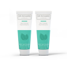 Natural Whitening Toothpaste Bundle - 2 x Peppermint