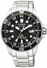 CITIZEN BJ7110-89E Eco-Drive Promaster Titanium GMT World Time Diver Men's Watch