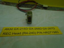 Akai GX-215D GX-266D GX-267D Head Record (R4-240) P/N HP271980 Used