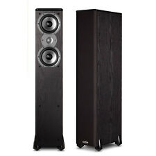 Polk Audio TSi300 Floorstanding Speaker (1Pair, Black), Brand New