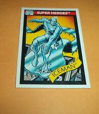 Iceman # 22 - 1990 Marvel Universe Series 1 Base Trading Card