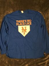 Mets Long Sleeve Shirt Stadium Giveaway No Place Like Home 4/7/2017 SGA