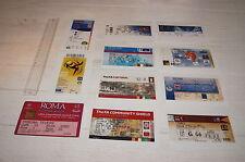 Lot 11 Photos Ticket Billet 11 Matches de la carrière de Thierry Henry