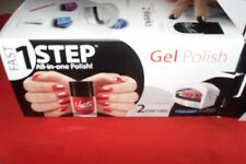 1 Step 2 Week Chips Free Cold Light Manicure Set With Buffer Wands & Wipes