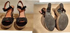 Damenschuhe,Sandaletten,Graceland,Gr. 39,mehrfarbig