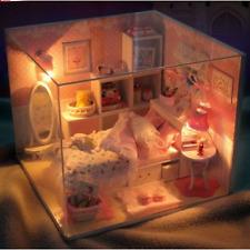Fai DA TE Handcraft in miniatura casa delle bambole-in legno Casa delle Bambole Luce & Cover-UK STOCK