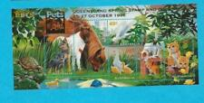 Mnh 1996 Australia Pets Mini Souvenir Sheet - Queensland Overprint - Wb-18