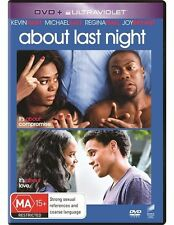 About Last Night (2012) DVD NEW