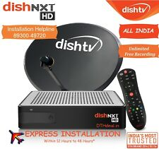 Dish TV NXT HD- DISHTV HD+ DTH Set Top Multi Box with 1 Month Full Pack *Free*