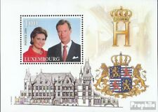 Luxembourg block18 fine used / cancelled 2000 throne