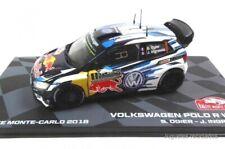 Volkswagen Polo R WRC Ogier 2016 Rally Montecarlo 1:43 Ixo Eaglemoss Diecast