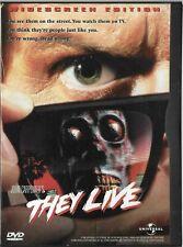 John Carpenter's: They Live (DVD, 1998) [1988] Roddy Piper Widescreen Edition