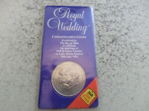 1981 Charles & Diana - Royal Wedding. Uncirculated Commemorative Crown Coin.