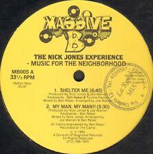 The Nick Jones Experience - Music For The Neighborhood - Massive B - MB005 Usos