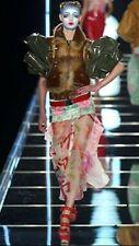 100% Auth 03 Runway JOHN GALLIANO For CHRISTIAN DIOR Asian Inspired Skirt Sz 6