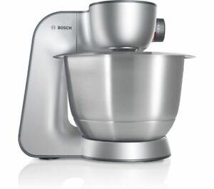 BOSCH MUM59340GB Stand Mixer 3.9L 7 Speeds Accessories Anthracite & Grey Currys