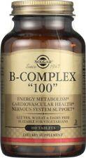 "Solgar B-Complex ""100"" 100 Tablets"