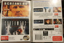 SCREAMERS & SCREAMERS 2 THE HUNTING RARE TWIN PACK DVD PETER WELLER SCI-FI FILMS