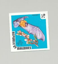 Maldives #448 Fruit Bat 1v Imperf Proof from set