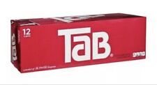 Tab Cola 12-Pack TAB Soda Soft Drinks Unopened Discontinued Sold Out Ready2Ship