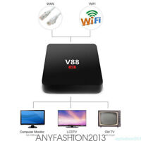 V88 Android 6.0 Smart TV BOX 4K RK3229 Quad Core 8 GB HD 1080P WIFI con teclado
