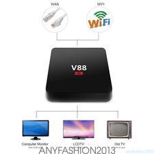 V88 Android 6.0 Smart TV BOX 4K RK3229 Quad Core 8 GB HD 1080P WIFI con teclado