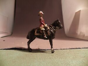 Britians 54mm Lead Mounted British Officer
