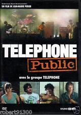 D.V.D../...TELEPHONE PUBLIC.../...AVEC LE GROUPE TELEPHONE.......