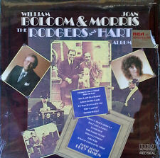 WILLIAM BOLCOM & JOAN MORRIS - RODGERS AND HART ALBUM - RCA LP - LUCY SIMON APP.