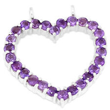 Amethyst 925 Sterling Silver Pendant Jewelry P1328A