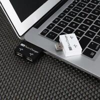 2.0 USB Hub 2 Port Charger Expander Hub Adapter Mini Dual Splitter Laptop M7B3