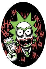 The Joker Rick And Morty 3 6 Vinyl Decal Stickers