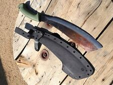 Condor Bushcraft Parang Machette Kydex sheath azwelke open back pancake style