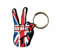 WHO union jack peace 2011 - shaped RUBBER KEYCHAIN official merchandise