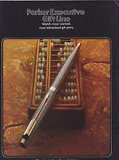 1976 VINTAGE CATALOG #1977 - PARKER PEN EXECUTIVE GIFT LINE