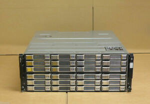 Dell EqualLogic PS6110E Virtualized 10GbE iSCSI SAN Storage Array + 24x 2TB HDD