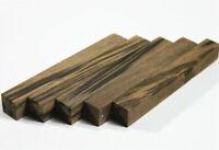 Set Of 5pcs Fragrance Ebony Wood Pen Blanks Small Project Turning 15mm/20mm/30mm