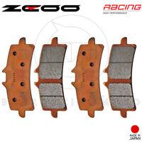 PASTIGLIE FRENO ANTERIORE ZCOO RACING-EX B005 BREMBO M4 34 MONOBLOCCO RADIALE