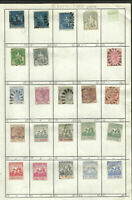 BRITISH BARBADOS LOT 23 OLD STAMPS, VERY FINE
