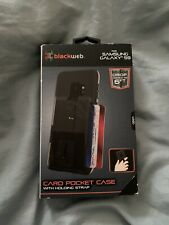 Blackweb Samsung Galaxy S9 Card Pocket Case With Holding Strap