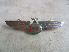vintage 1994 Jazz Air Transport International Airlines Captain Pilot Wings Pin 3