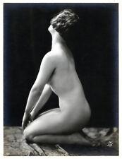 French CLASSIC Nude Expressive Deco ERA 1925 Sculptural Pose ~ PARIS LATEST!